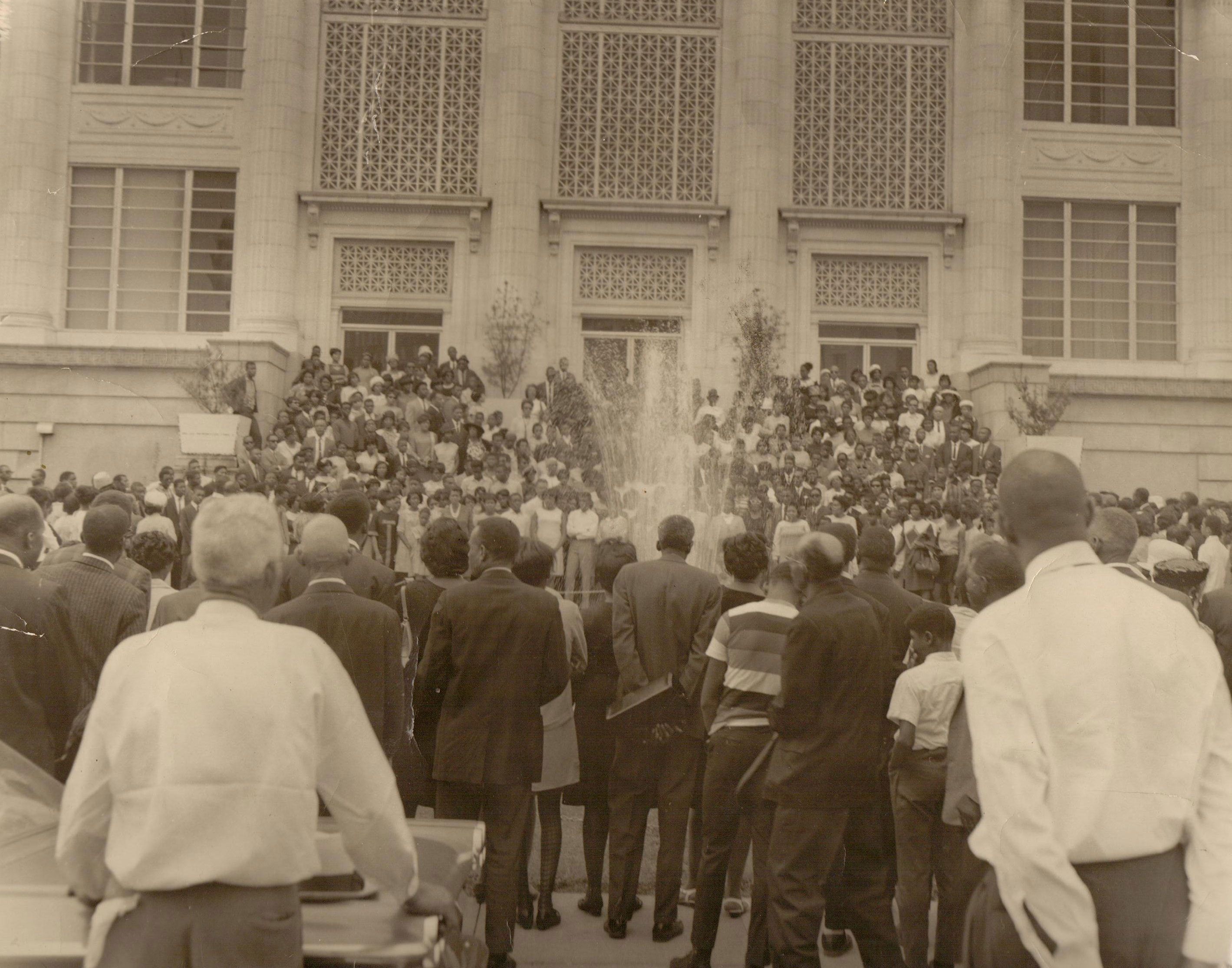 March on Meridian City Hall, 1968